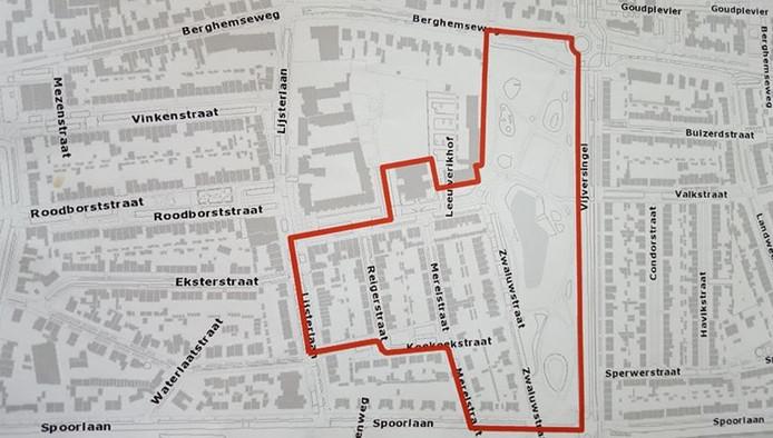 In dit gebied is het besluit vanaf 5 december van kracht.