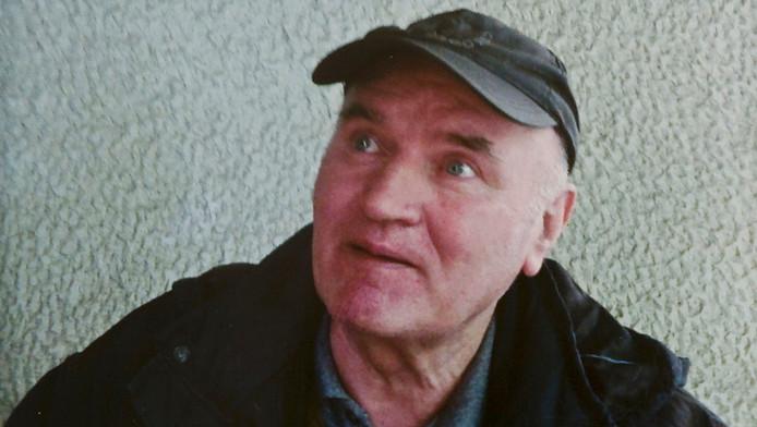 Ratko Mladic na zijn arrestatie.