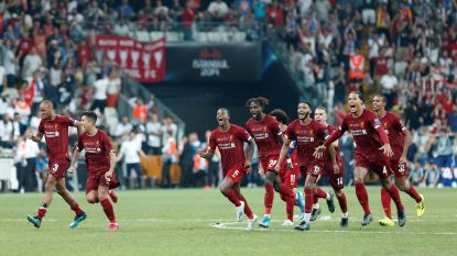 Liverpool rekent na penalty's af met Chelsea en wint Europese Supercup
