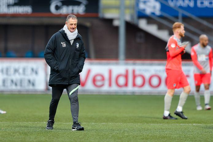 Trainer Ernie Brandts na afloop van FC Volendam - FC Eindhoven