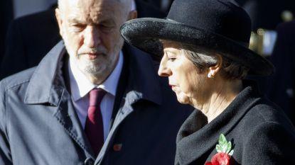 """Labour steunt akkoord met Europa niet, May deze week terug naar Brussel voor """"cruciale onderhandelingen"""""""