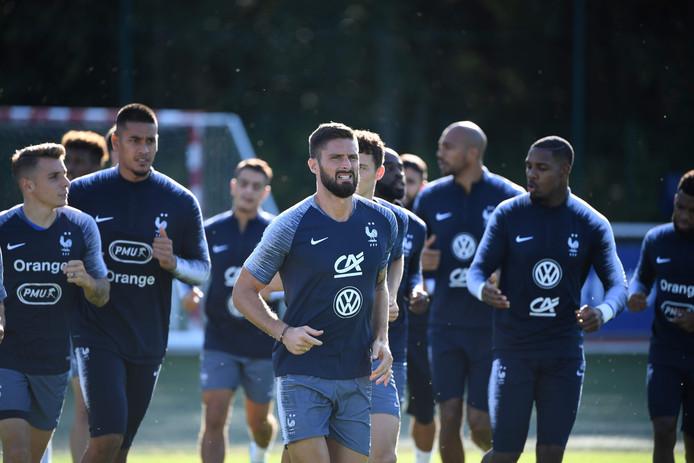 Frankrijk bereidt zich voor op de EK-kwalificatie.