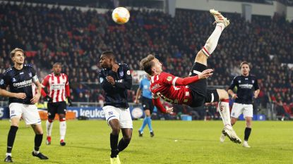 FT buitenland (24/11). De Jong pakt bij PSV uit met heerlijke omhaal - Meunier zegeviert opnieuw met PSG - Thierry Henry boekt eerste zege met Monaco