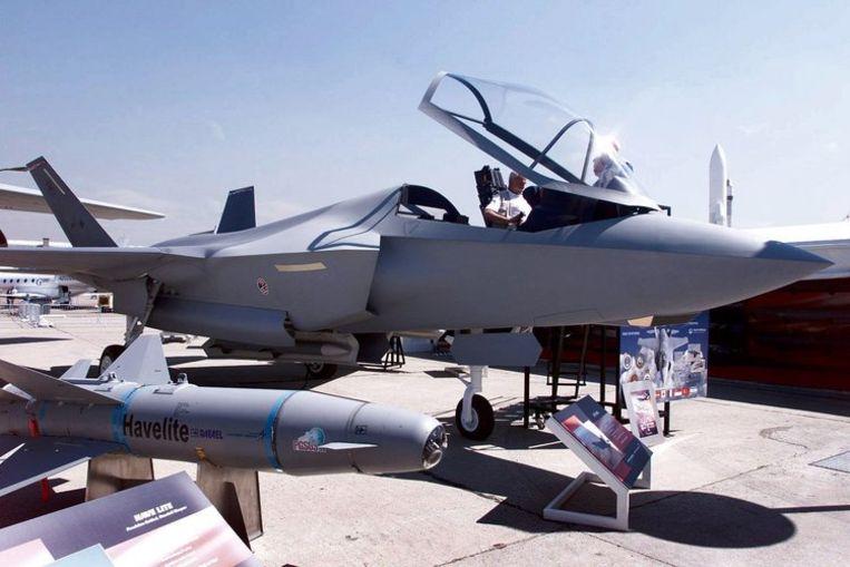 Als het aan het kabinet ligt, wordt de JSF de opvolger van de huidige F-16's. Foto ANP/Olaf Kraak Beeld
