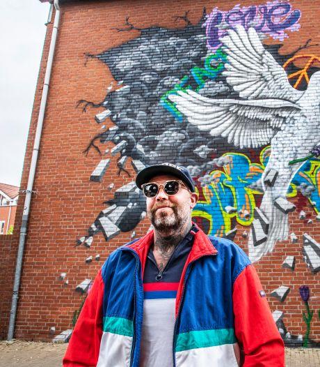 Overal in Tilburg krijgen de muren kleur. Fraai, maar waar is het lef?