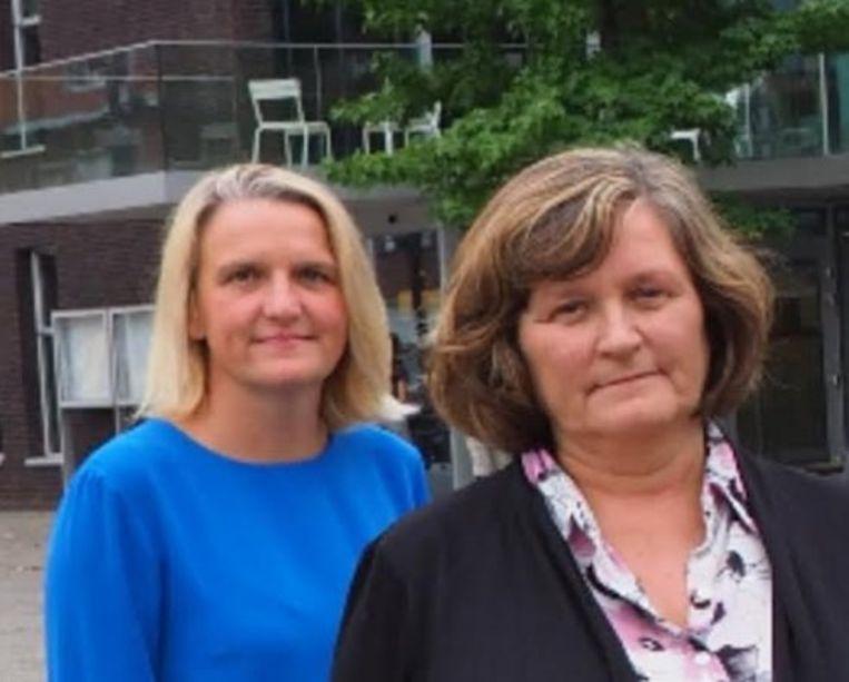 Siegrid De Smedt en Ann De Cleyn van CD&V Edegem.