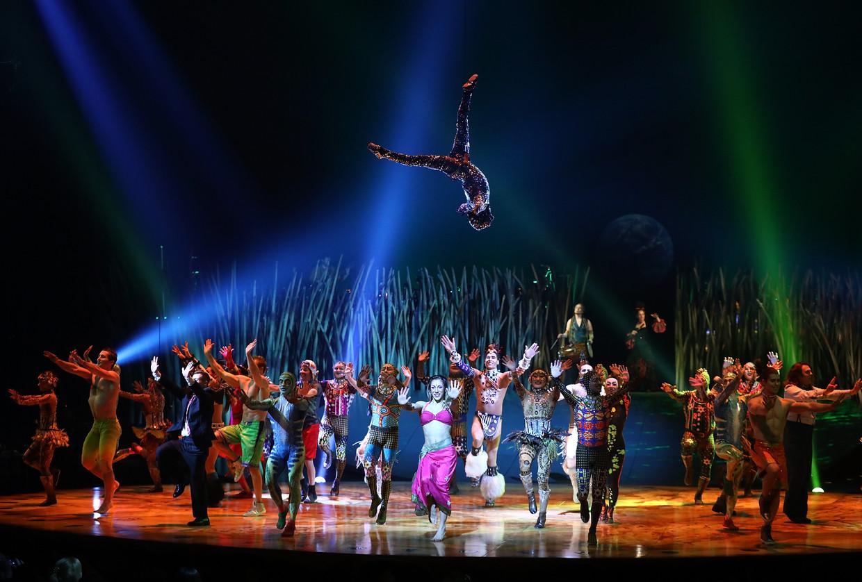 """""""Cirque du Soleil trekt in de wintermaanden 300.000 bezoekers,"""" zegt Toine Hooft, consultant van Bureau Stedelijke Planning. Beeld Tim P. Whitby/Getty Images"""