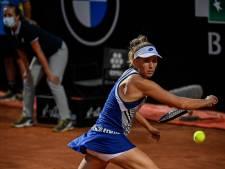 Elise Mertens s'incline avec les honneurs devant Karolina Pliskova en quarts de Rome