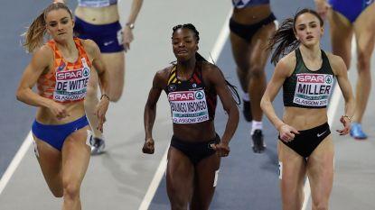 EK indoor atletiek: Maudens achtste in vijfkamp - Bolingo plaatst zich met nieuwe recordtijd voor finale 400 meter én Cheetahs gaan uit hun dak