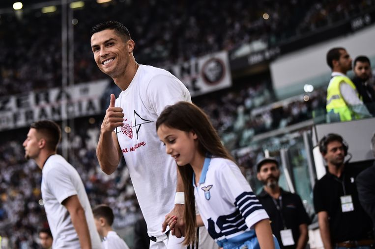 Ronaldo heeft al vele Turijnse harten gewonnen. Beeld null