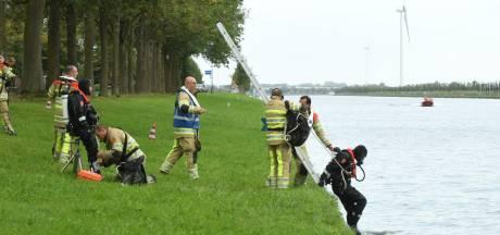 Dode gevonden in auto op bodem kanaal bij Schalkwijk