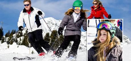 Prinses Alexia breekt been bij skiën