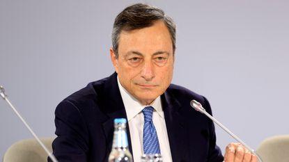 Euro gaat omhoog na verklaringen van Draghi
