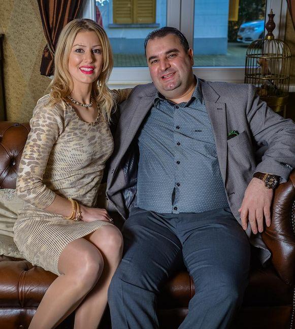 Salar AZimi en zijn vrouw Annika de Ruijsscher