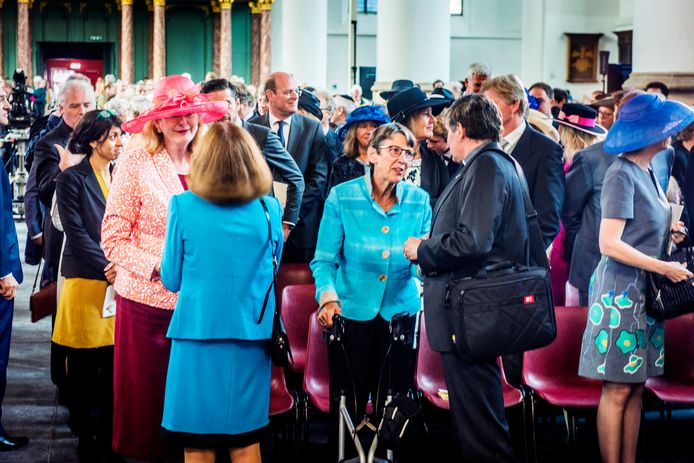 De hoedjes zijn een belangrijk onderdeel van de etiquette bij Prinsjesdag.
