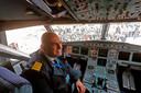 De piloot van de eerste commerciële lijnvlucht