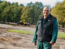 Greenkeeper 'De Wouwse' houdt niet van geel