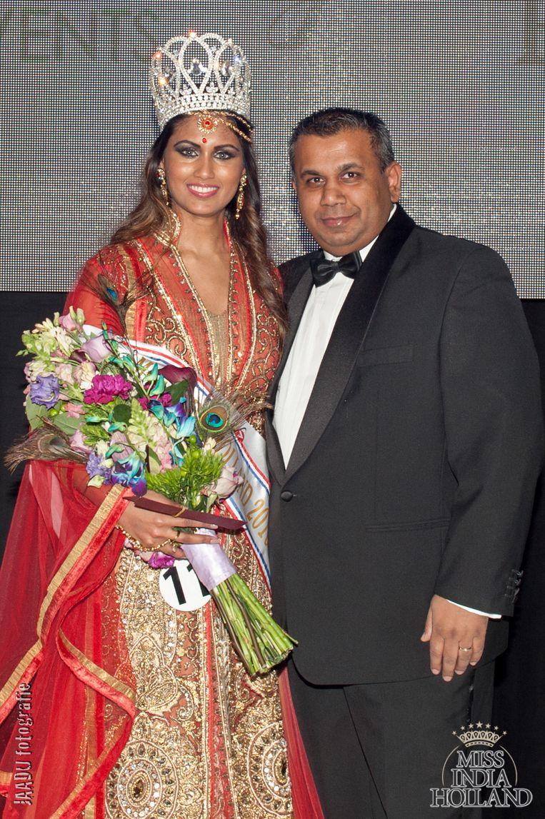 In 2016, met Miss India. Beeld Jaduu Fotografie