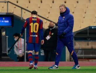 Rampavond voor Barça: het verliest straffe finale Spaanse Supercup en ziet Messi eerste rood krijgen