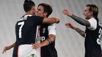 Juventus zeven punten los na simpele zege, Dybala opent score met fraaie goal