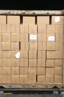 19.000 kilo illegale waterpijptabak in beslag genomen in Helmond