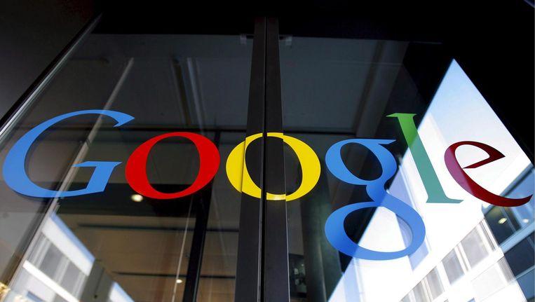 Het logo van Google. Beeld epa