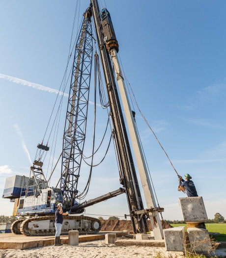 Begin bouw nieuwe windturbines tussen Lichtmis en Nieuwleusen