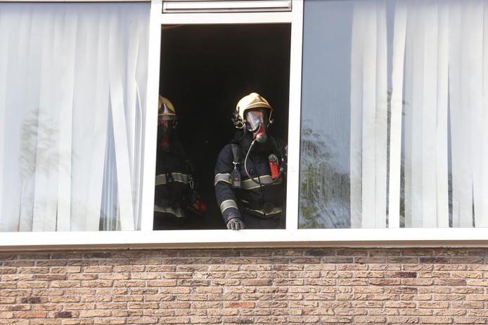 De brandweer wist de brand te blussen