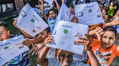 Anderstaligen klaar voor nieuwe  schooljaar dankzij taalbad tijdens zomer