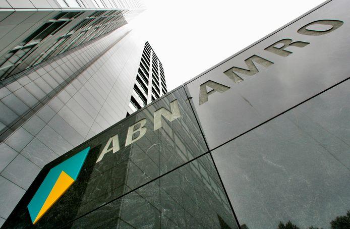 Hoofdkantoor van ABN Amro in Amsterdam.