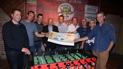 Duivels Park levert 2.500 euro op voor G-voetbal