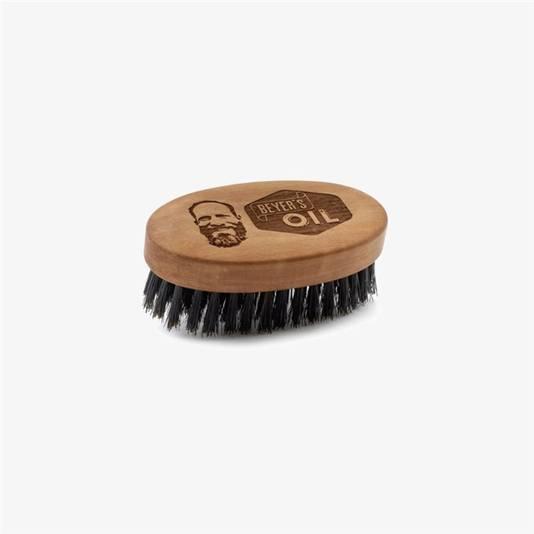 Une brosse à barbe de la marque Beyer's Oil, disponible sur Zalando. Prix: 22,95 euros.