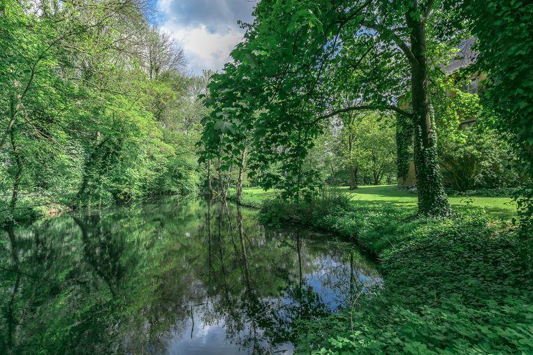 Aan Kasteel Nieuwenhove heb je ook een park van zeven hectare.