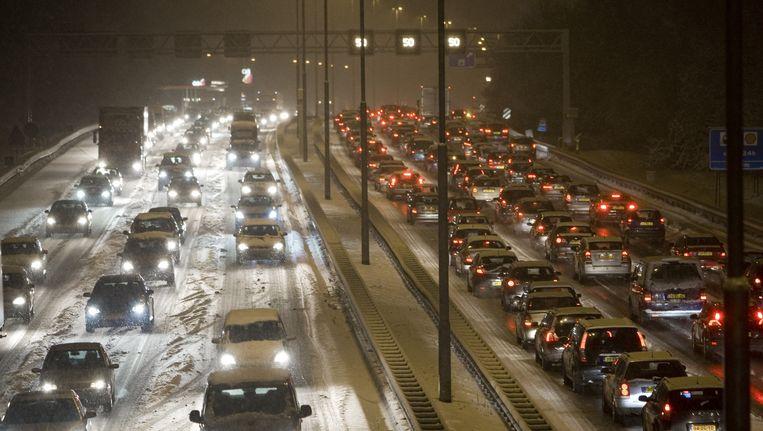 Files op de A9 nabij Amsterdam Beeld anp