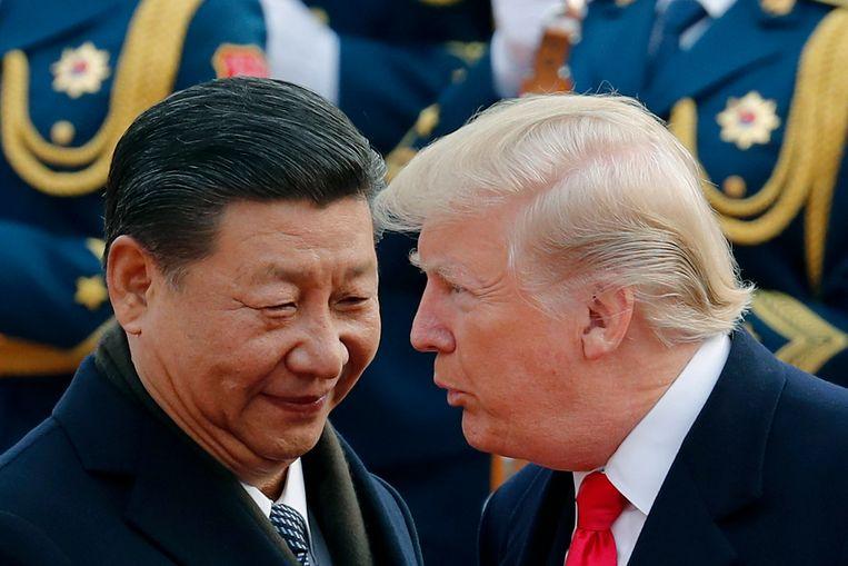 President Donald Trump met zijn Chinese evenknie Xi Jinping.