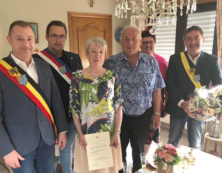 Gouden huwelijk voor familie Lenaerts uit Kapellen