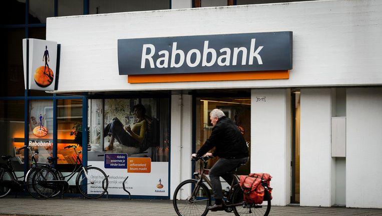 Een filiaal van de Rabobank in Santpoort-Noord. Beeld anp