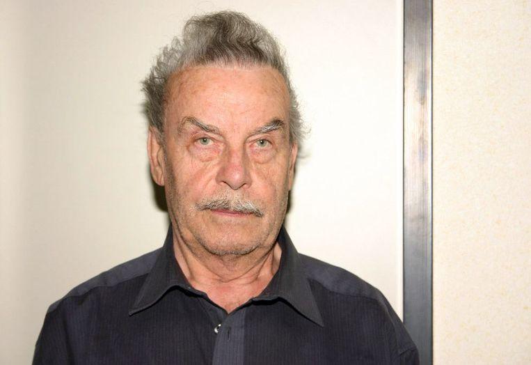 Josef Fritzl (toen 73) na zijn arrestatie.