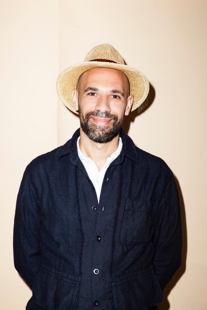 Abdelkader Benali, schrijver, columnist, Marokko, presentator, mei 2018