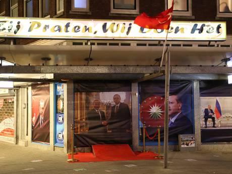 'Posters van Erdogan waren experiment'