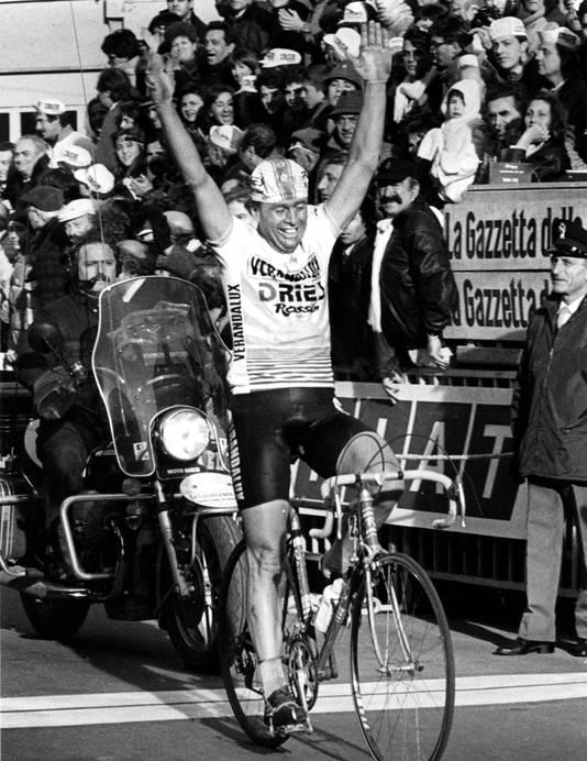 Hennie Kuiper, de derde en laatste Nederlander die Milaan-San Remo won.