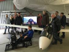Wind mee voor Zweefvlieg Club dankzij vlucht simulator