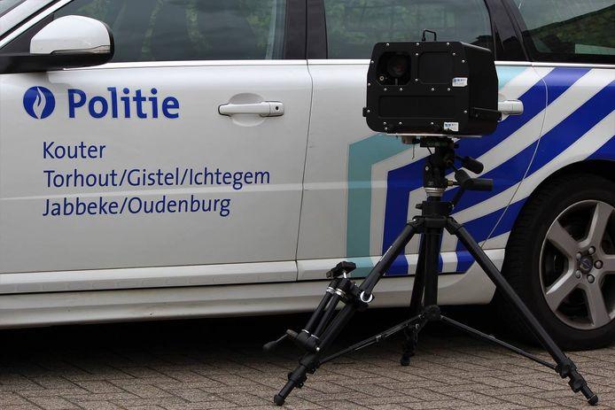 De politie maakte drie data en locaties van flitscontroles bekend.