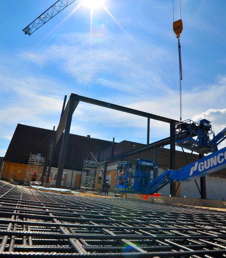 Nieuwbouw gemeenschapshuis De Borgh in Budel verloopt vlot