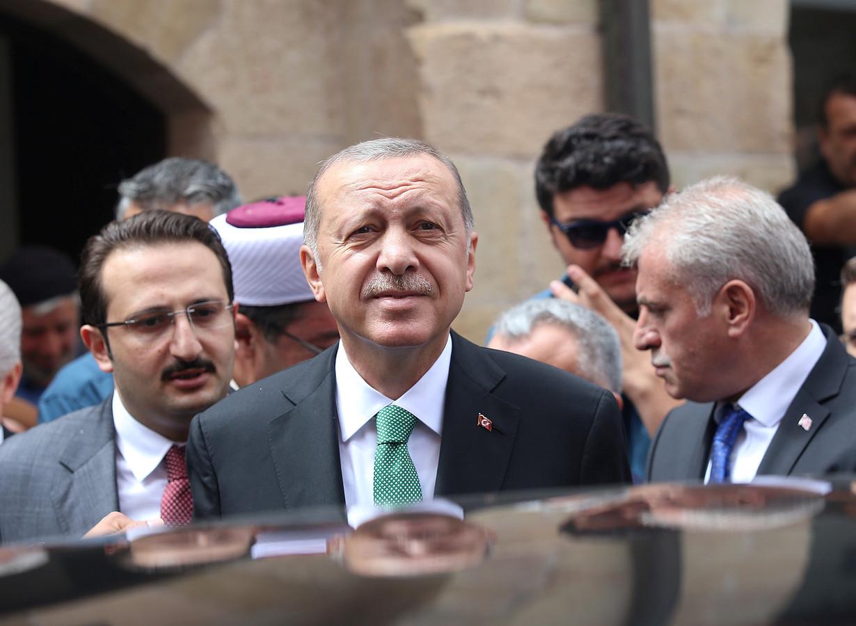 Turkse president Tayyip Erdogan.