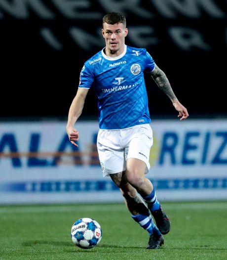 FC Den Bosch-spits Jizz Hornkamp snakt naar nieuwe doelpunten