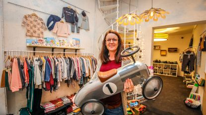 Kinderkledij en speelgoed in pop-up Funky Fly in Ensorgalerij