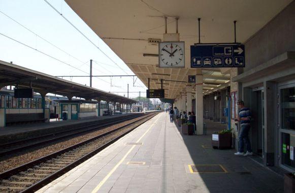 Het station van Kortrijk.