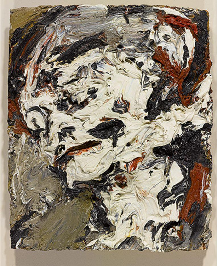 Head of Gerda Boehm, 1965, van Frank Auerbach Beeld Sotheby's