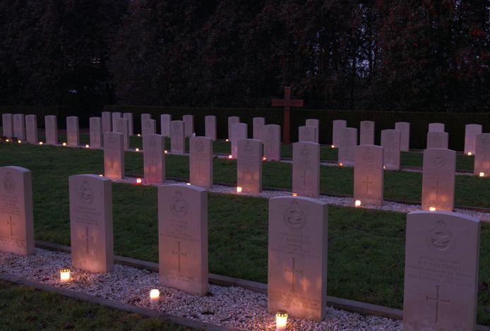 Lichtjes begraafplaats Winterswijk